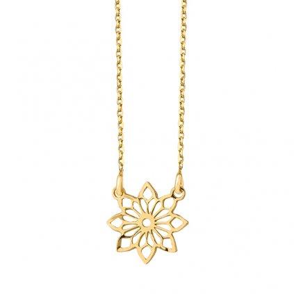 zlatá květina