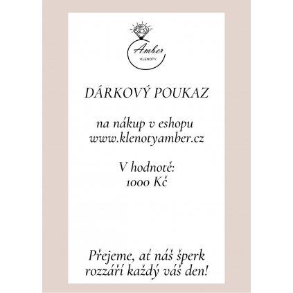 www.klenotyamber.cz poukaz