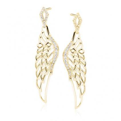 zlatá andělská křídla