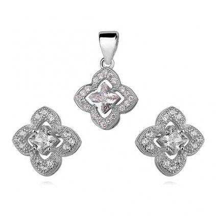 stříbrná sada šperků