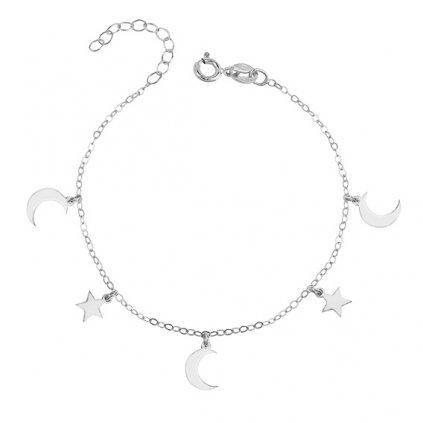náramek měsíc a hvězdy