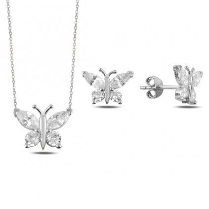 sada šperků motýl