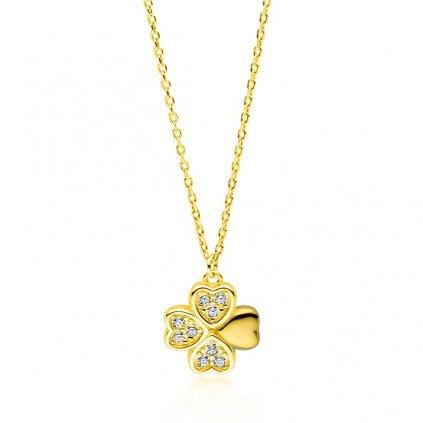 náhrdelník čtyřlístek