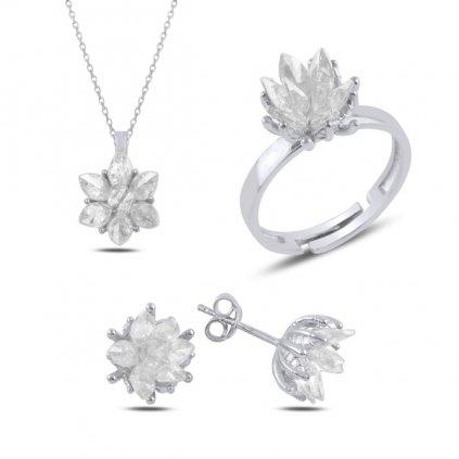 sada šperků lotos