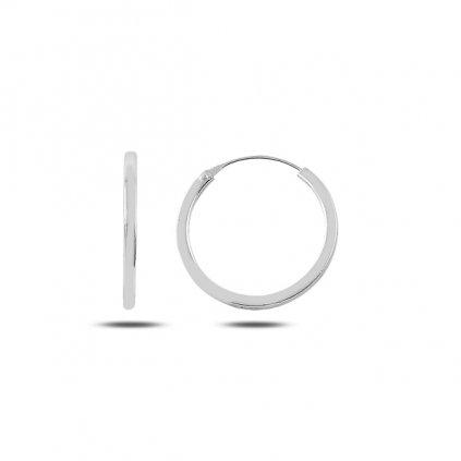 náušnice kruhy 18 mm