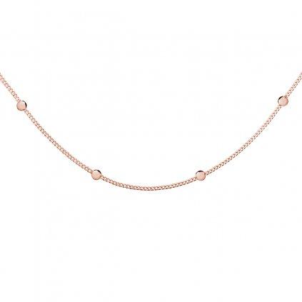 Stříbrný náhrdelník choker kuličky