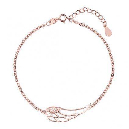 náramek s andělským křídlem