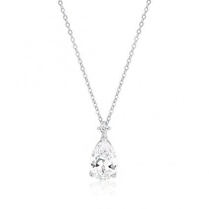 luxusní stříbrný náhrdelník