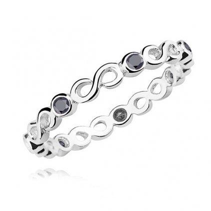prsten stříbro nekonečno