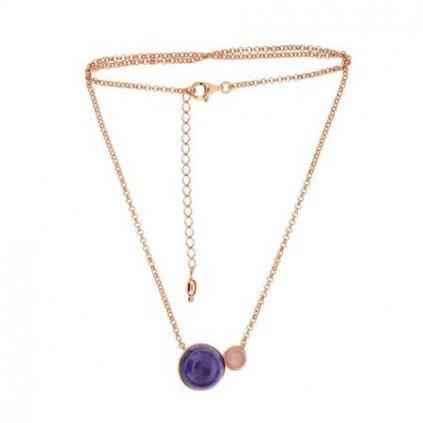 náhrdelník s ametystem