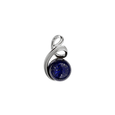Stříbrný přívěsek lapis lazuli