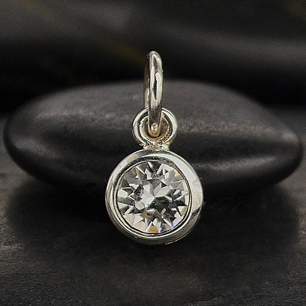 Stříbrný přívěsek - Swarovski Crystal