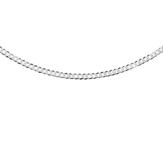 Stříbrný řetízek - vhodný i pro muže