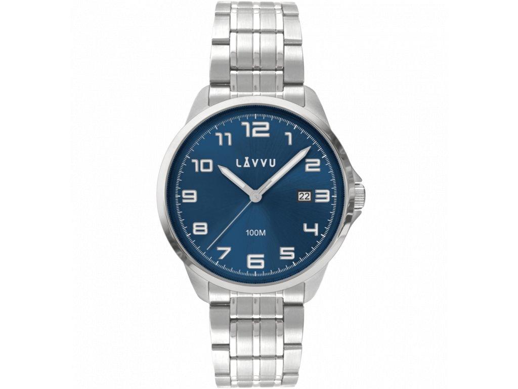 10167 stylove panske hodinky lavvu sorensen blue