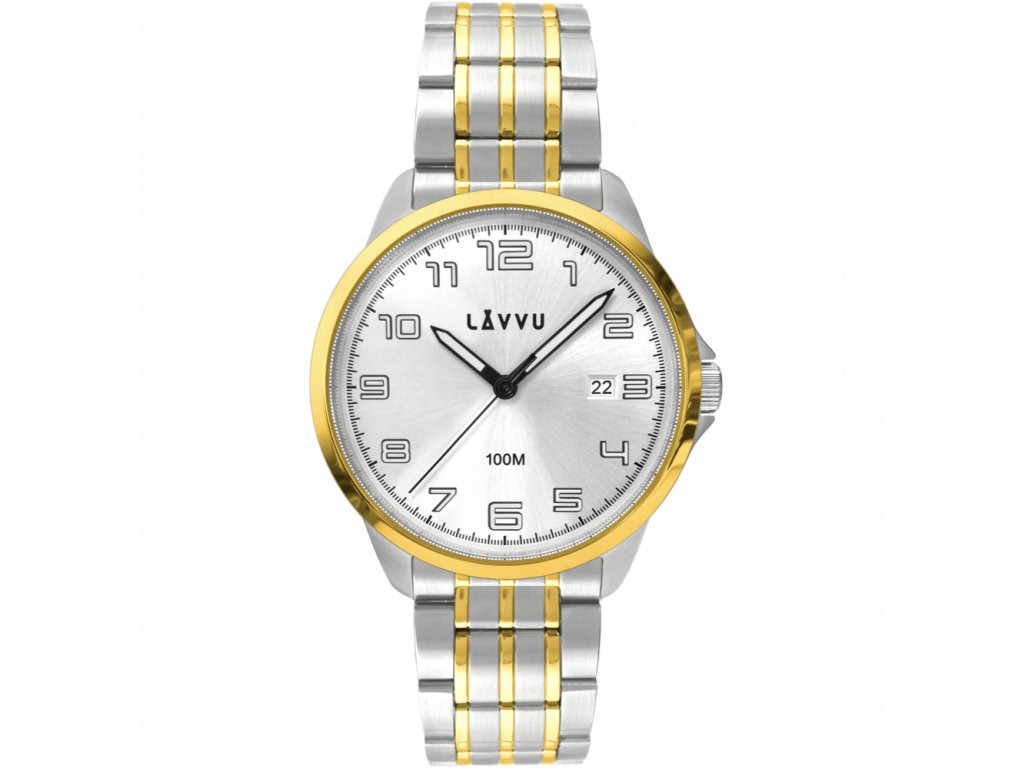 10047 stylove panske hodinky lavvu sorensen gold