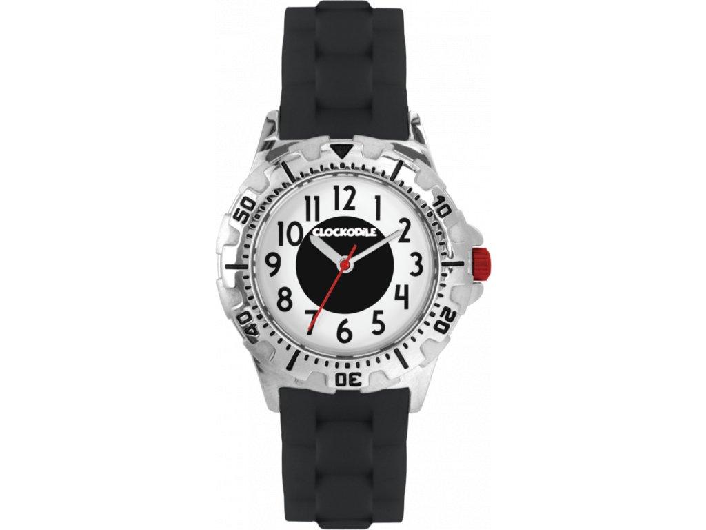 3696 svitici cerne sportovni chlapecke detske hodinky clockodile sport 3 0