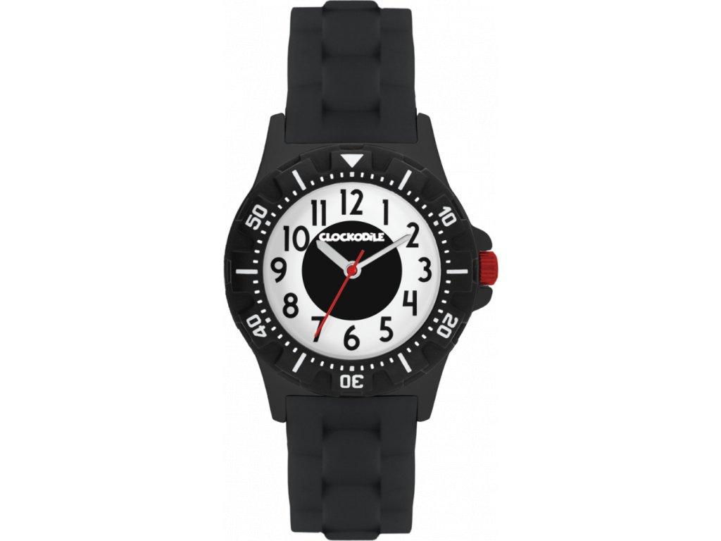 10917 svitici cerne sportovni chlapecke detske hodinky clockodile sport 3 0