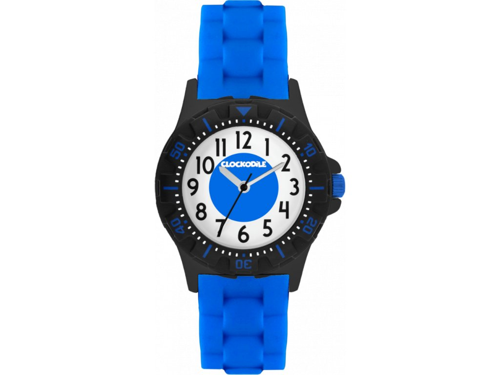 3684 svitici modre sportovni chlapecke detske hodinky clockodile sport 3 0