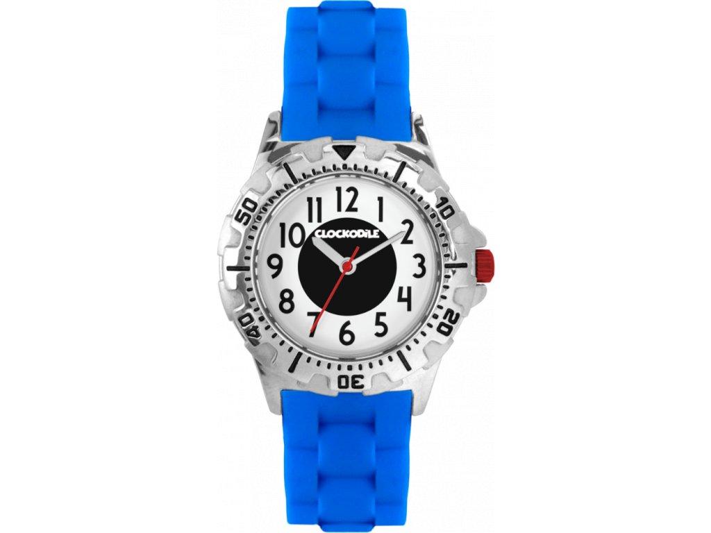 10110 svitici modre sportovni chlapecke detske hodinky clockodile sport 3 0
