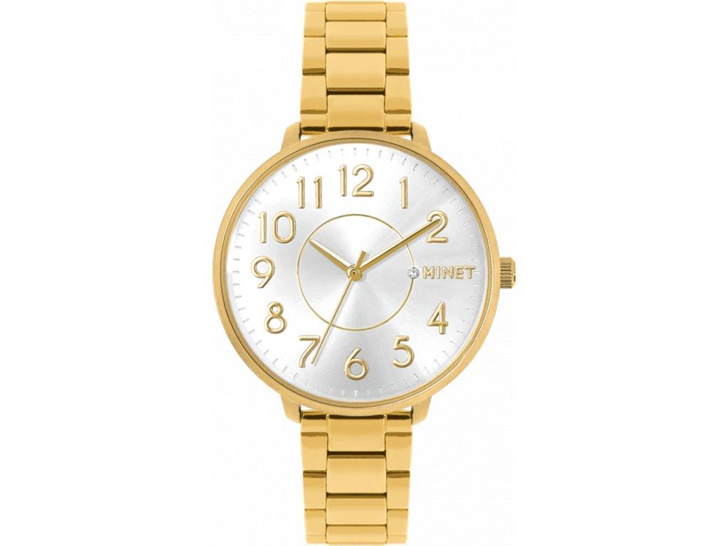 6708 zlate damske hodinky minet prague pure gold