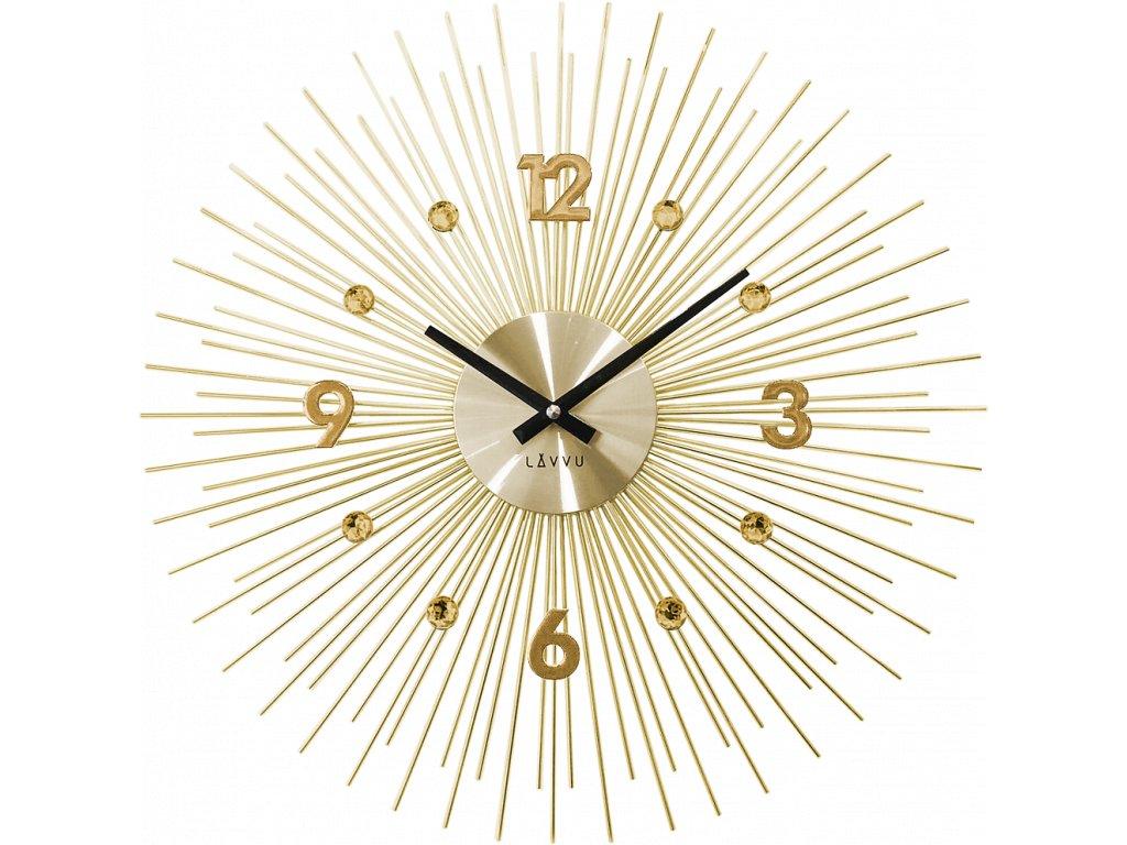 6876 zlate hodiny lavvu crystal lines
