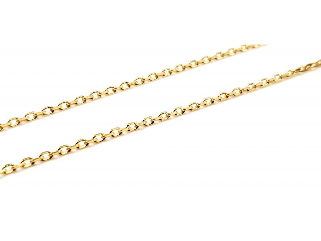 83097 zlaty damsky retizek v provedeni cable