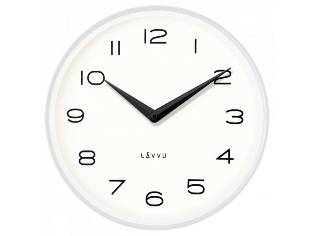 58242 2 bile kovove minimalisticke hodiny lavvu living