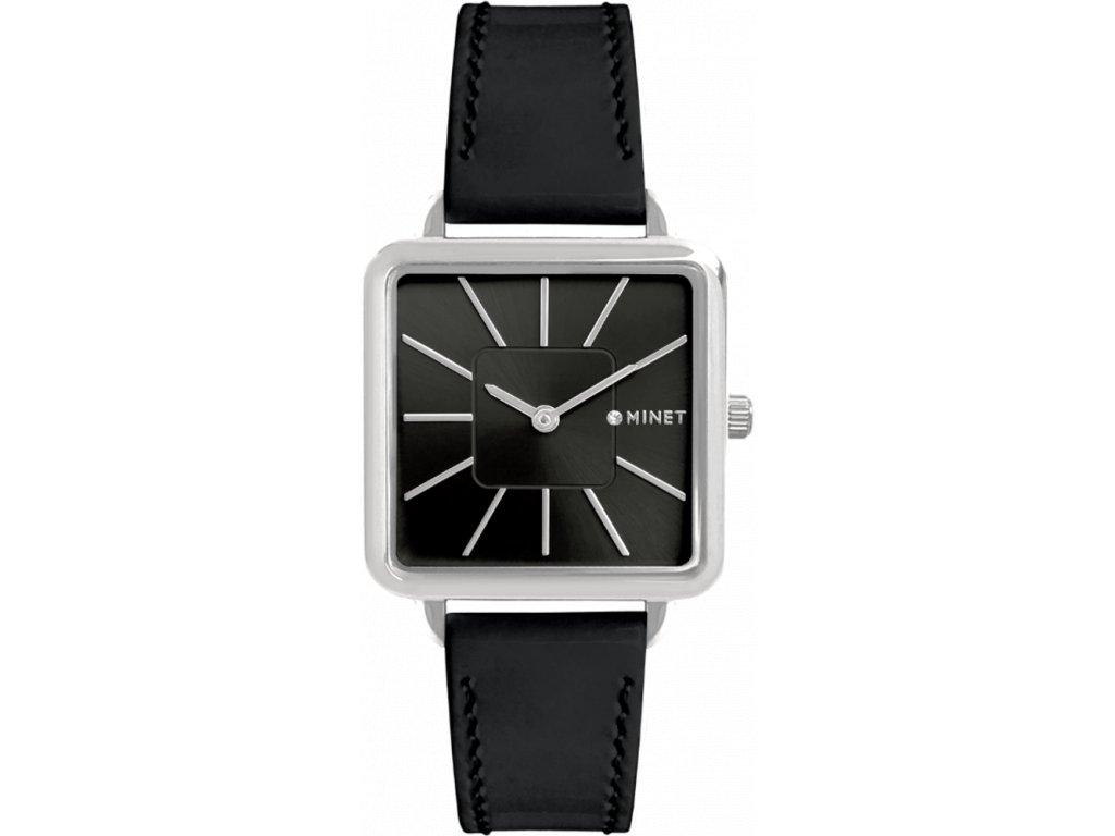 58305 3 cerne damske hodinky minet oxford black glamour