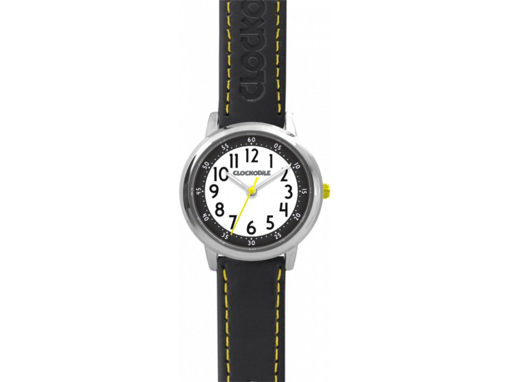 58326 cerne chlapecke hodinky clockodile colour