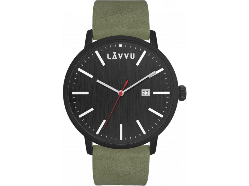 58386 1 cerno zelene panske hodinky lavvu copenhagen