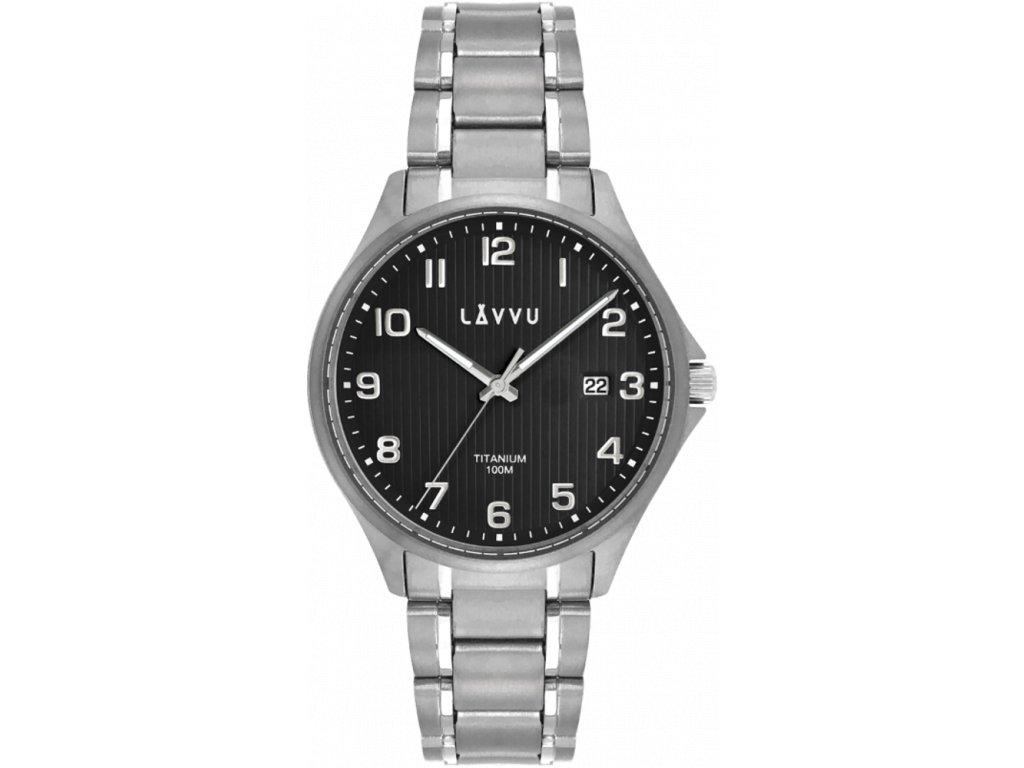 58554 2 extremne lehke titanove hodinky lavvu titanium lillehammer black