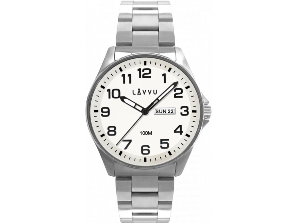 58788 2 ocelove panske hodinky lavvu bergen white se sviticim ciselnikem