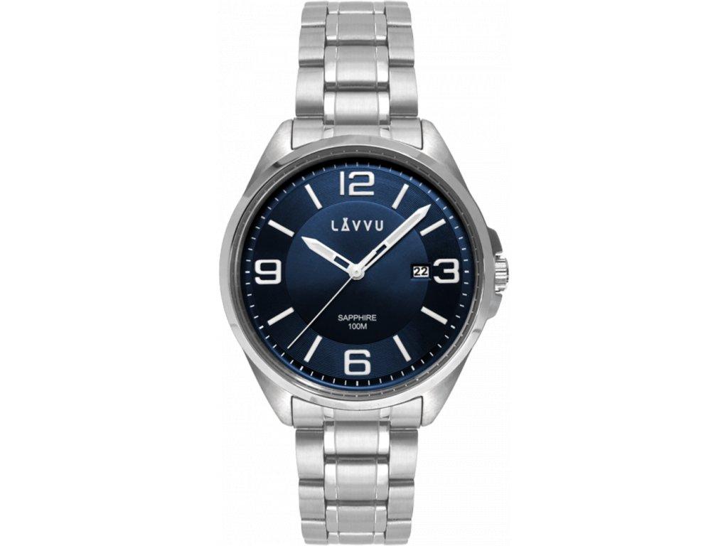 58809 2 panske hodinky se safirovym sklem lavvu herning blue