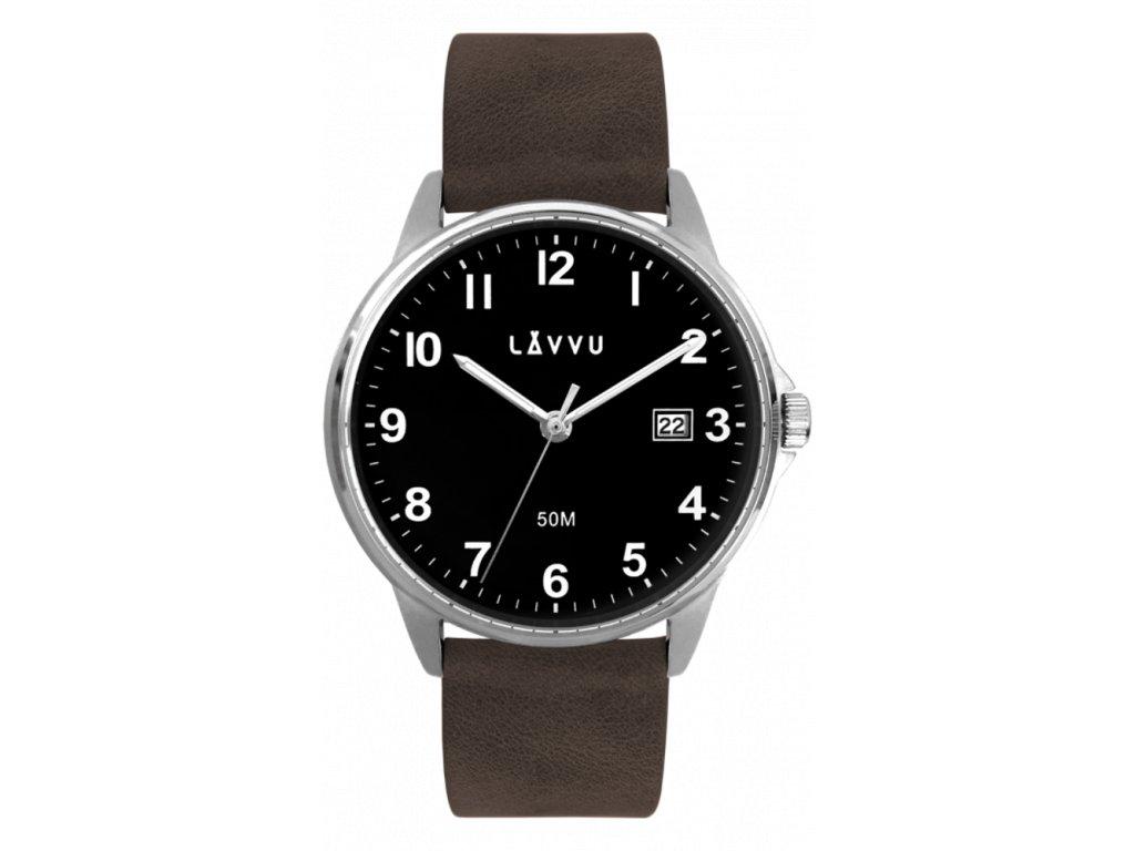 59481 1 tmave hnede hodinky lavvu goteborg