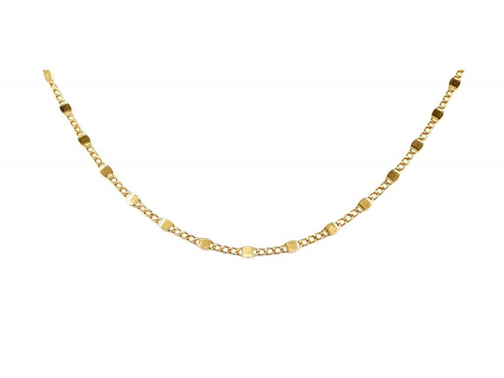 56682 zdobny zlaty nahrdelnik
