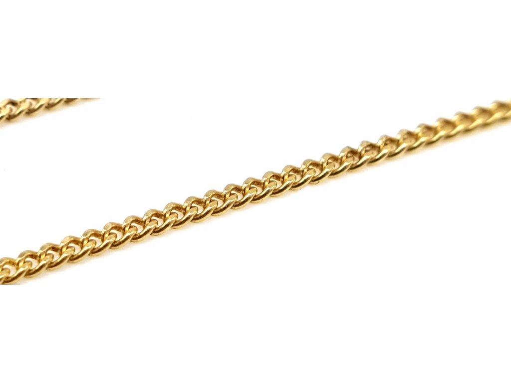56730 zlaty retizek ze zluteho zlata s ocky