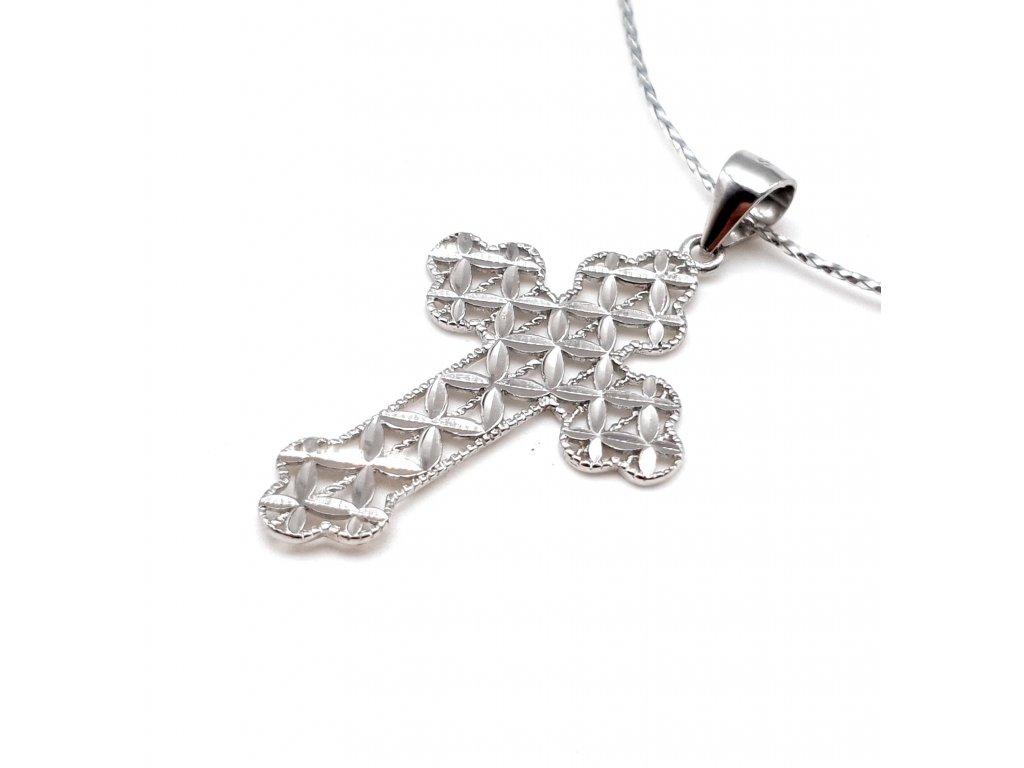 Originální stříbrný kříž