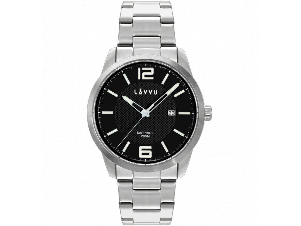 10050 20 atm panske hodinky se safirovym sklem lavvu dykker black