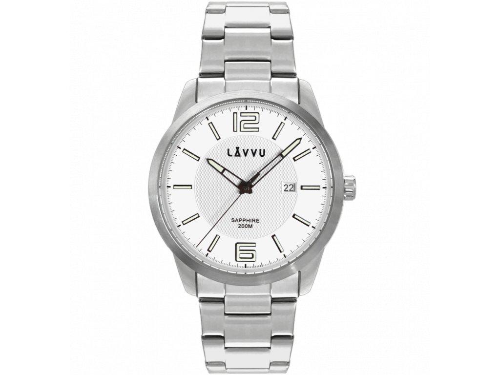 10170 20 atm panske hodinky se safirovym sklem lavvu dykker silver