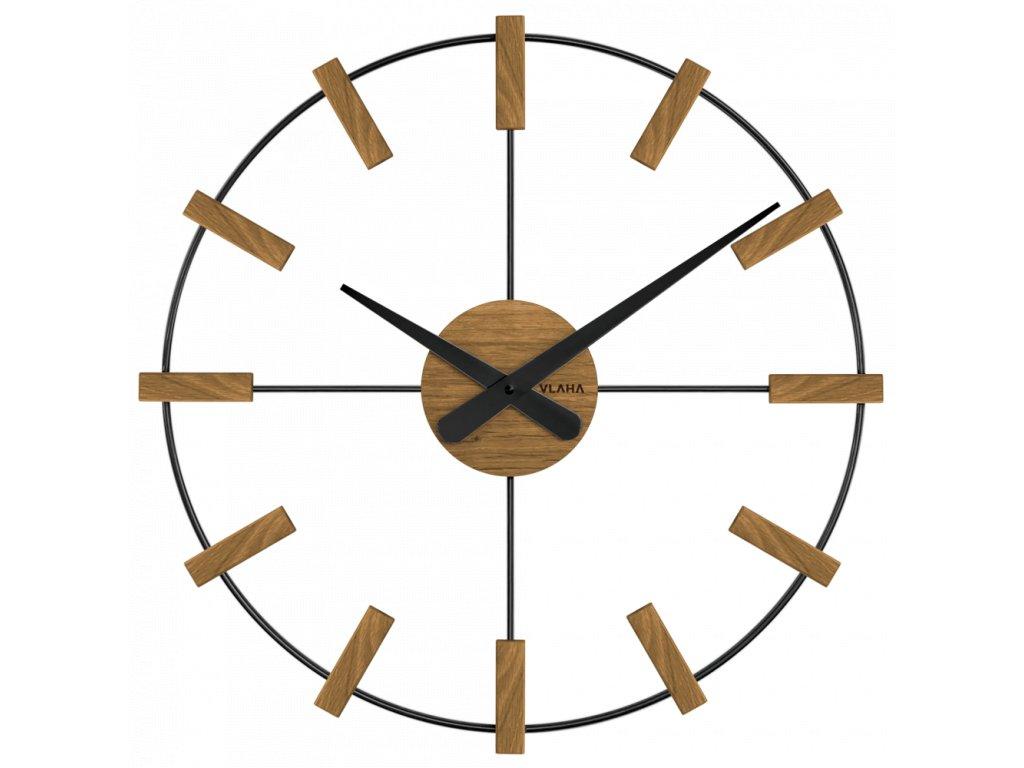 10188 drevene cerne hodiny vlaha studio vyrobene v cechach