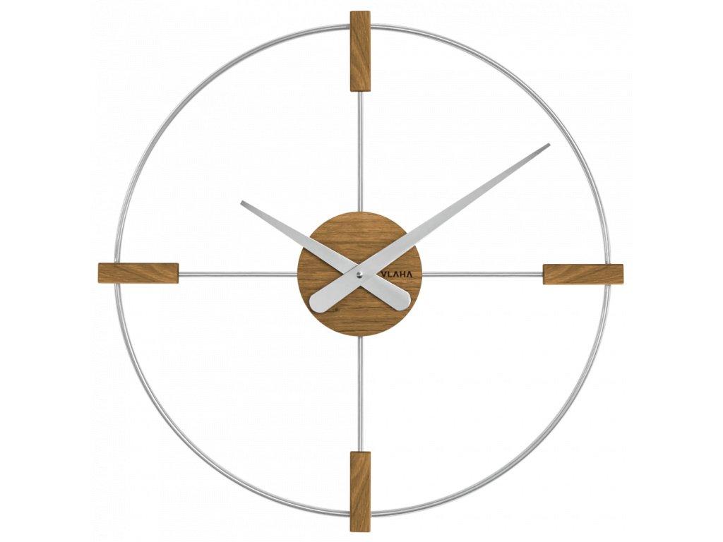 10179 drevene stribrne hodiny vlaha studio vyrobene v cechach
