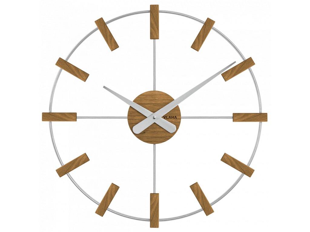 10185 drevene stribrne hodiny vlaha studio vyrobene v cechach