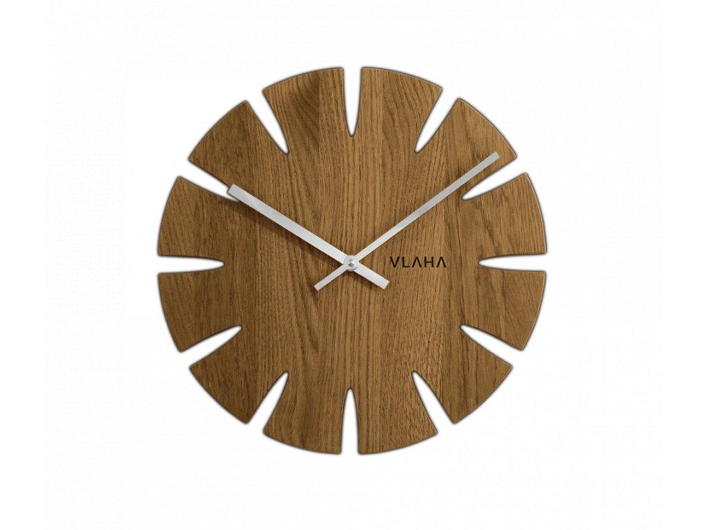 1788 dubove hodiny vlaha vyrobene v cechach se stribrnymi ruckami