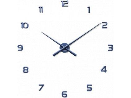 4461 modre nalepovaci hodiny lavvu 3d sticker blue numerals