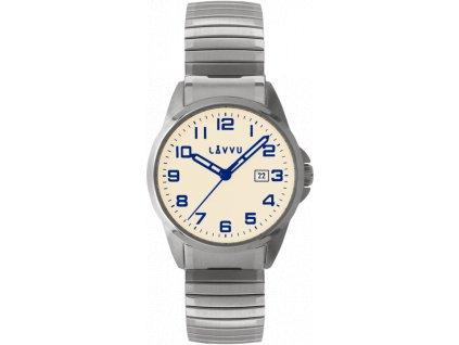 5661 panske pruzne hodinky lavvu stockholm big beige