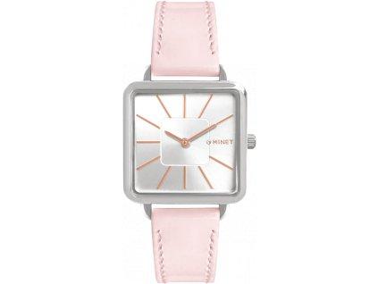 4284 ruzove damske hodinky minet oxford pink kiss