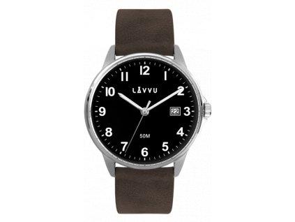 4407 tmave hnede hodinky lavvu goteborg