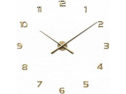 6747 zlate nalepovaci hodiny lavvu 3d sticker gold numerals