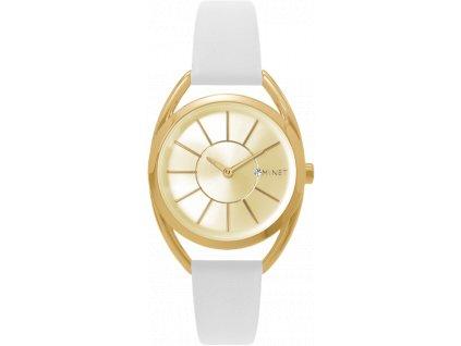 58200 5 bile damske hodinky minet icon hollywood white
