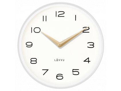 58239 2 bile kovove minimalisticke hodiny lavvu living